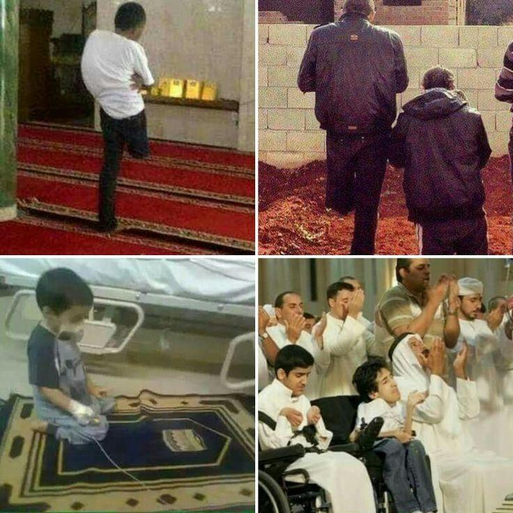 Karena Sholat 5 Waktu itu Wajib, maka bagaimanapun kondisi fisik Anda tetaplah melaksanakannya.  #Inspirasi #muslim