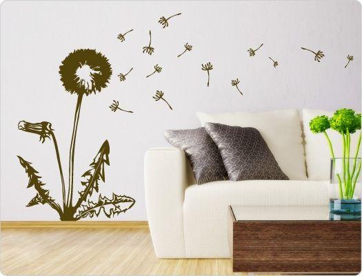 die besten 17 ideen zu wandtattoo pusteblume auf pinterest wandtattoo babyzimmer wandtattoo. Black Bedroom Furniture Sets. Home Design Ideas