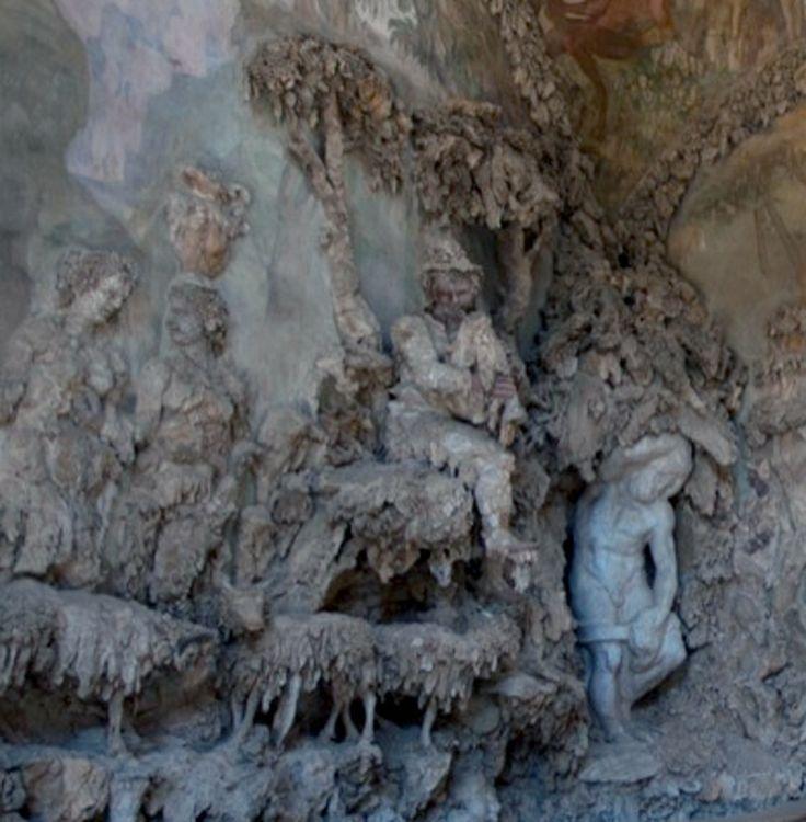 Giardino di Boboli Grotta Grande particolare