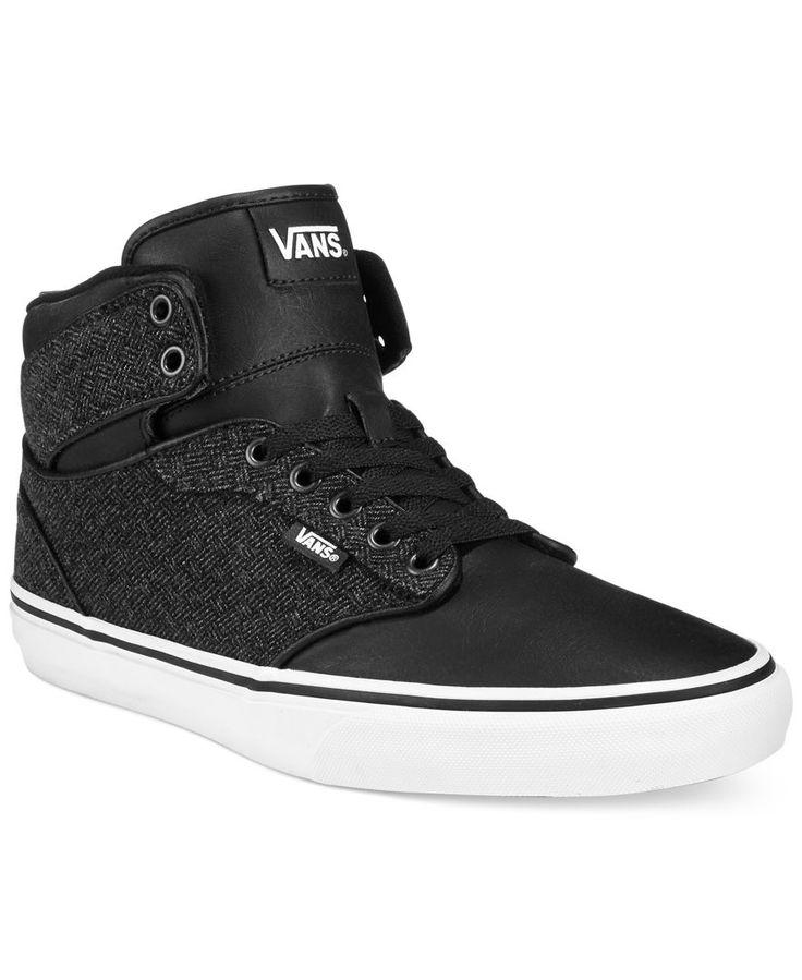 Vans M Atwood Hi-Top Sneakers - Sneakers \u0026 Athletic - Men - Macy\u0027s