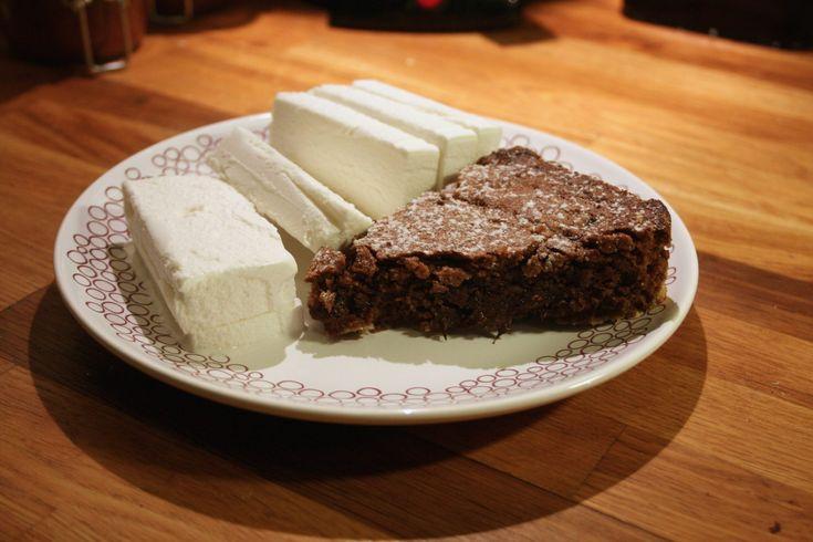 Sockerfri kladdkaka - Glutenfritt & sockerfritt recept (LCHF) - CATBJE.SE