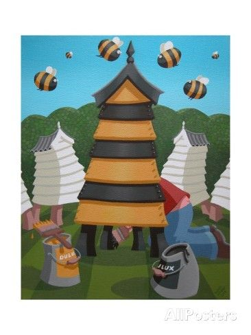 Hive Fit for a Queen, 2004 Giclee Print by Victoria Webster - AllPosters.co.uk