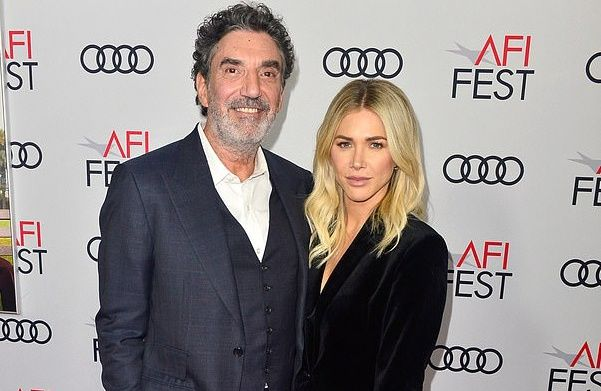 Chuck Lorre with enchanting, Wife Arielle Lorre