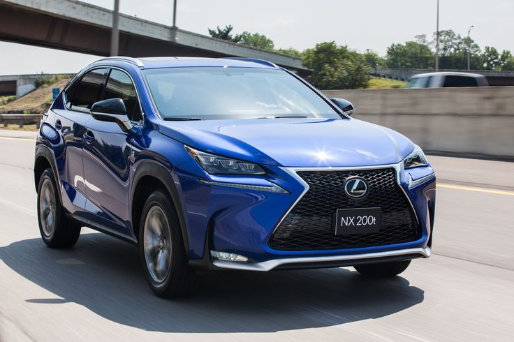 First Drive Lexus NX 200t FSport Is Sport in Name Only