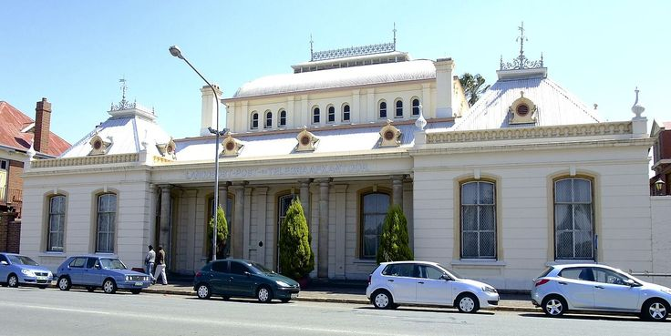 Type of site: Post Office.Old Post Office, Greyling Street, Potchefstroom