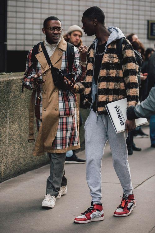 street style a la fashion week homme automne hiver 2018 2019 de londres