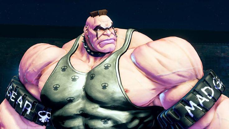 Street Fighter V: Abigail Reveal Trailer [Video] #Playstation4 #PS4 #Sony #videogames #playstation #gamer #games #gaming
