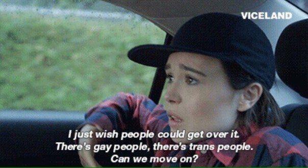 —Хотелось бы, чтобы люди просто приняли это. Есть гомосексуалы, есть транссексуалы. Можно просто спокойно жить дальше?