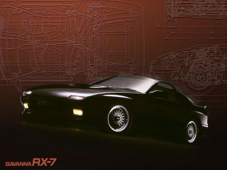 Savanna Rx 7 Fc3s Wallpaper 1024 768 車の壁紙に使える Car Mazda Sports Cars