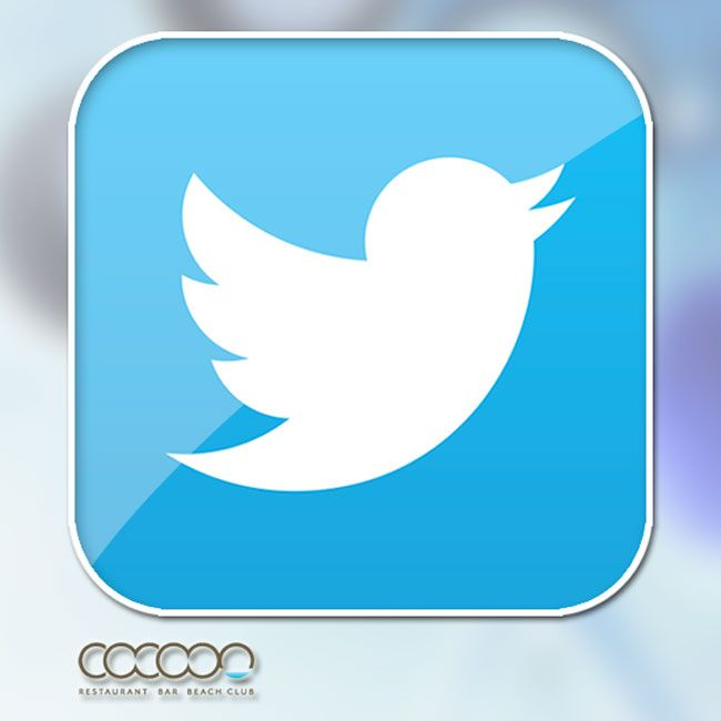 Are you an obsessive Tweeter!!! Don't forget to follow us @cocoonbeachclub on #twitter Or check out our direct feed right here on our Facebook page!!  https://twitter.com/CocoonBeachClub