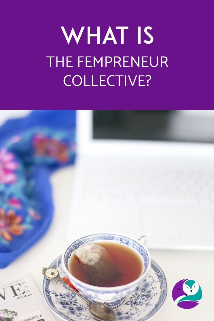 On the blog, I chat about a fantastic project that's the vision of Jakolien Sok:  The Fempreneur Collective.