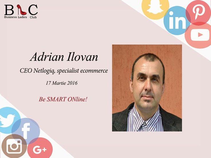 Astăzi, aducem în atenția dumneavoastră 3 membrii ai echipei Netlogiq ce vor fi alături de noi în 17 martie: Adrian Ilovan, Ancuţa Bodnărescu și Răzvan Antonescu. (https://goo.gl/JQyaH2)  Alături de ei vom învăța care sunt pașii și cele mai eficiente metode pentru a începe o campanie de promovare ONline.  Be there: http://goo.gl/oBxSaV   #BeSMARTONline
