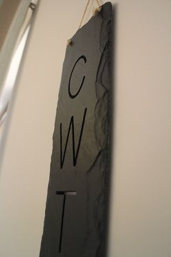 Beautiful Welsh Slate 'CWTCH' wall plaque.  Available from http://www.ilovewales.com/welsh-gift-shop.html#!/~/product/id=35509767