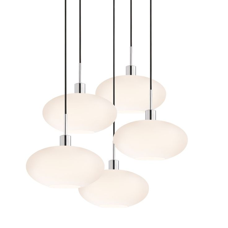 5 Light Grand Oval Pendant