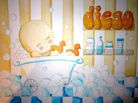 Ilustración para Diego