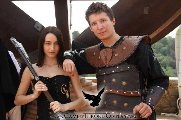Asha and Theon by CalamityJade.deviantart.com on @deviantART
