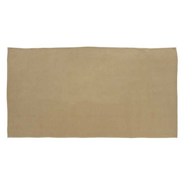 VHC Brands Burlap Natural Tablecloth - 15244