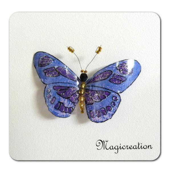 MAGNET PAPILLON VESTA - Boutique www.magicreation.fr