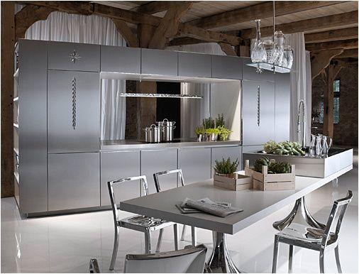Philippe starck 39 s library kitchen philippe starck for Kitchen design 6 4