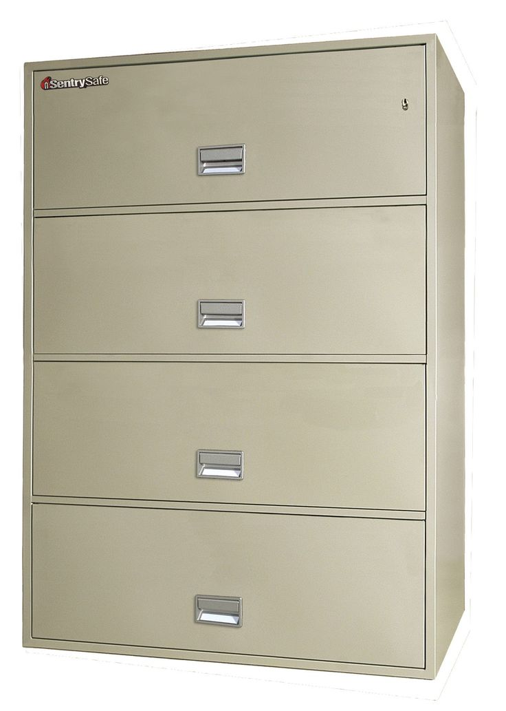 4-Drawer Fireproof Key Lock Key Lock File Safe