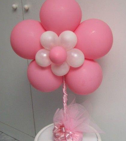 flores con globos - Buscar con Google
