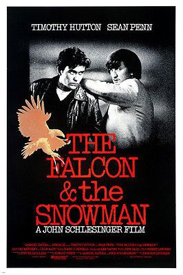 the FALCON and the SNOWMAN movie poster SEAN PENN TIMOTHY HUTTON drama 24X36