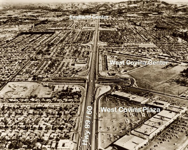 West Covina in 1960 | West Covina, California | Pinterest | West covina