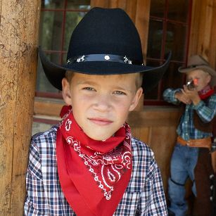 Kids Cowboy Hats | Paso Boys Black Cowboy Hat | Shop-JM Cremps Adventure Store