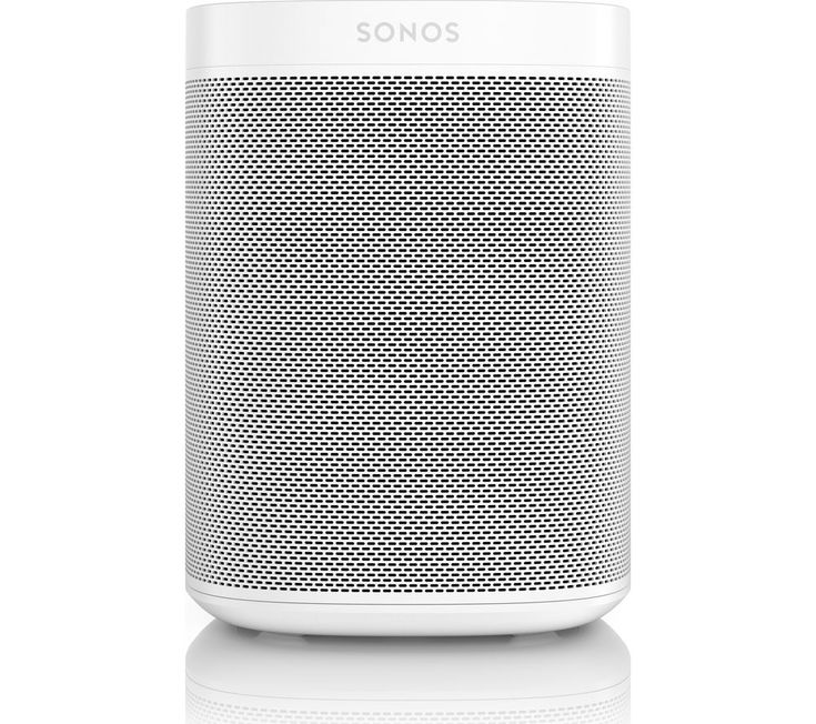 Buy SONOS One Wireless Smart Sound Speaker - White, White Price: £199.00 Top features: - Control the music with your voice using Amazon Alexa - Multi-room listening to fill your home with music - Superior sound for immersive audio Control the music with your voice The Sonos One Wireless Smart Sound Speaker features Amazon Alexa, allowing you to control the music with your voice. Stream music...