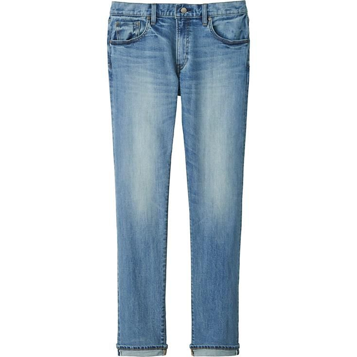 MEN SELVEDGE SLIM FIT JEANS | UNIQLO