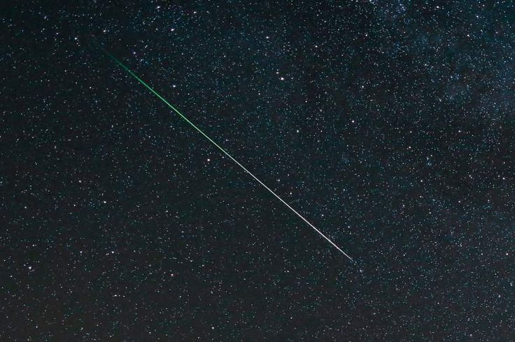 The Perseid Meteor Shower over Northamptonshire, England on Aug. 11, 2015.
