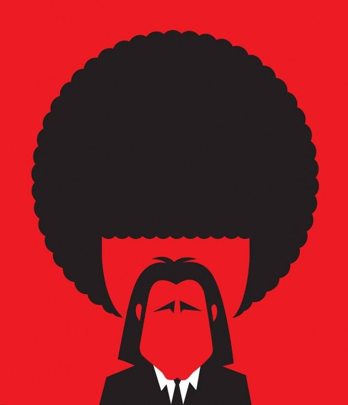 By Noma Bar - Pulp Fiction