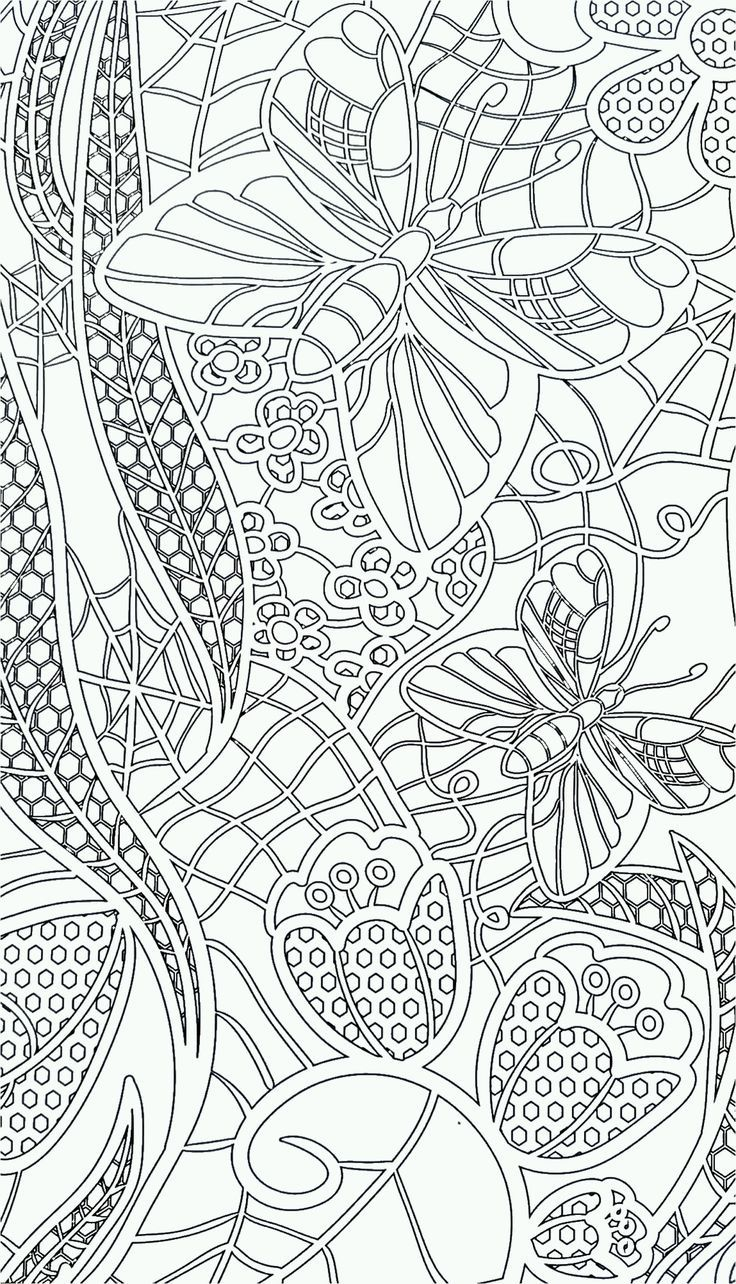 abstract coloring book pages - photo#49