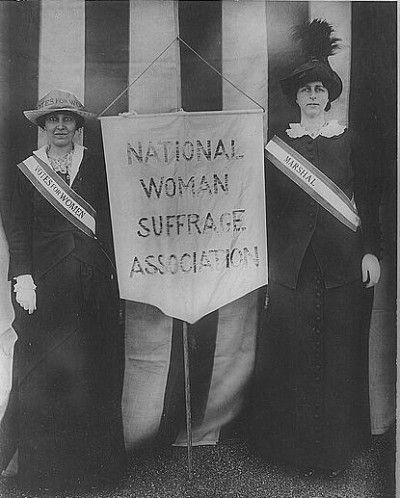 a history of woman suffrage movement and right of women to vote 28 powerful pictures of women fighting for their right to vote  male and female members of the women's suffrage movement on a protest march through london  a woman peers through a .