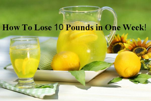 If you are sick of trying every single diet without having any visible results, this is the most effective daily meal plan if you want to lose those pounds fast.  This diet is a great way to detox your body, lasts only one week and it is quite promising, which means you will lose 10 pounds.  It
