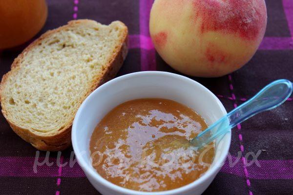μικρή κουζίνα: Μαρμελάδα ροδάκινο-αχλάδι-ξινόμηλο