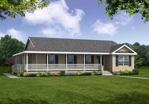 1000 images about ranch single story home exteriors on for Single story house plans with front porch