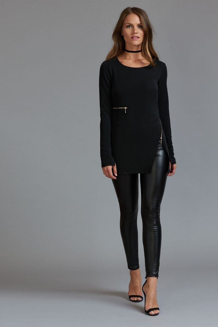 17 Best ideas about Faux Leather Leggings on Pinterest | Faux leather pants Leather leggings ...
