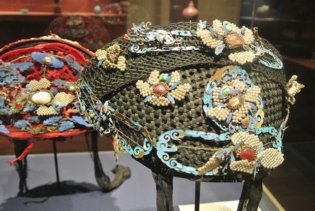 Bridal Headdress - Qing Dynasty (1644-1911)