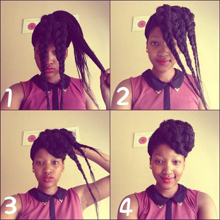 Phenomenal 1000 Images About Hairstyle Crush Box Braids On Pinterest Short Hairstyles Gunalazisus