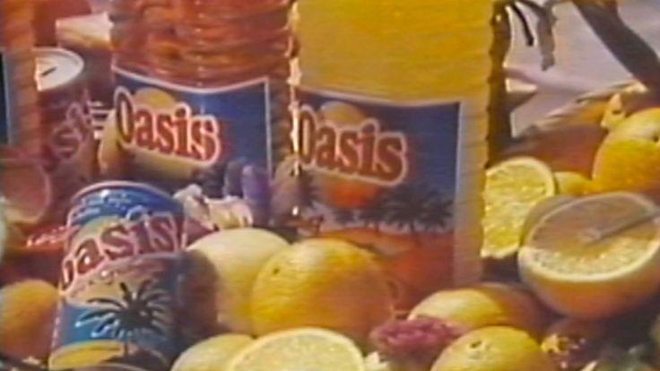 1986 - Commercial - Oasis Boissons de Fruits