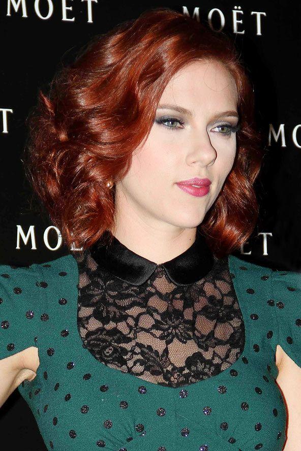 Scarlett Johansson red hair | hairs... | Pinterest