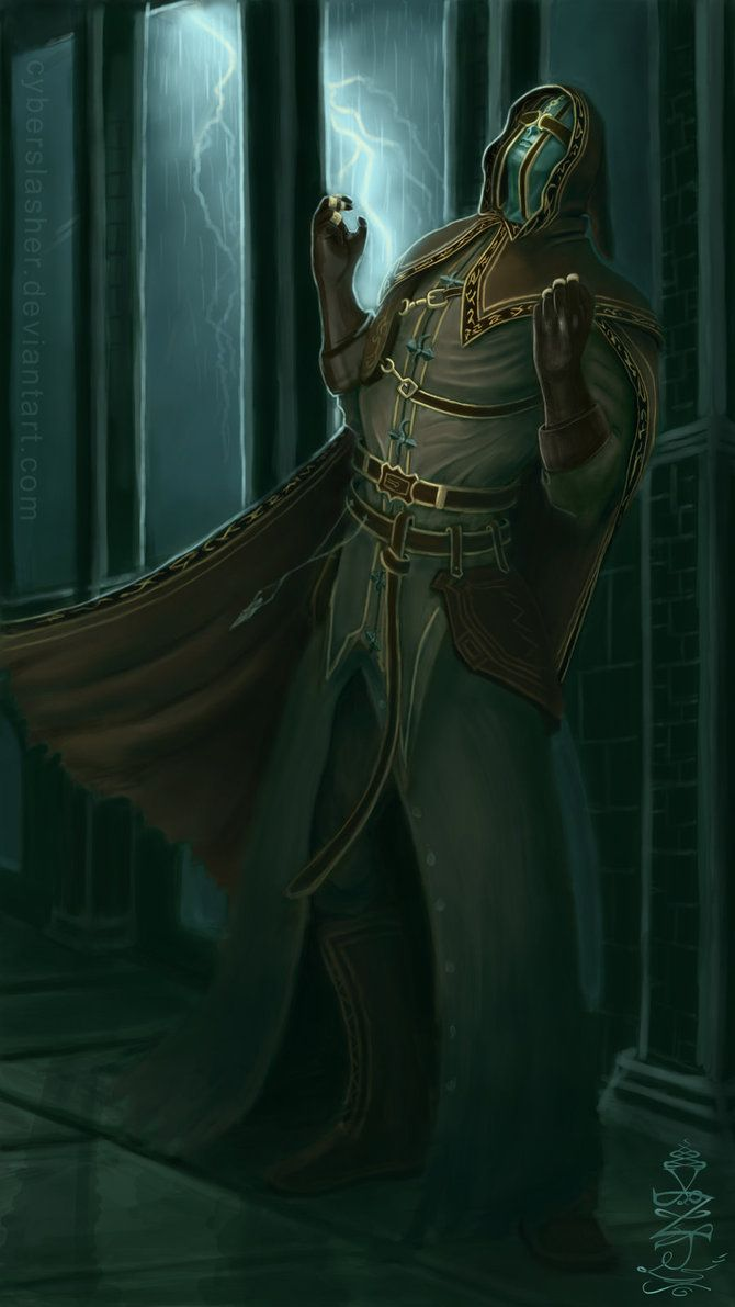Request - Royal Sorcerer Navlaan by CyberSlasher | Dark ...