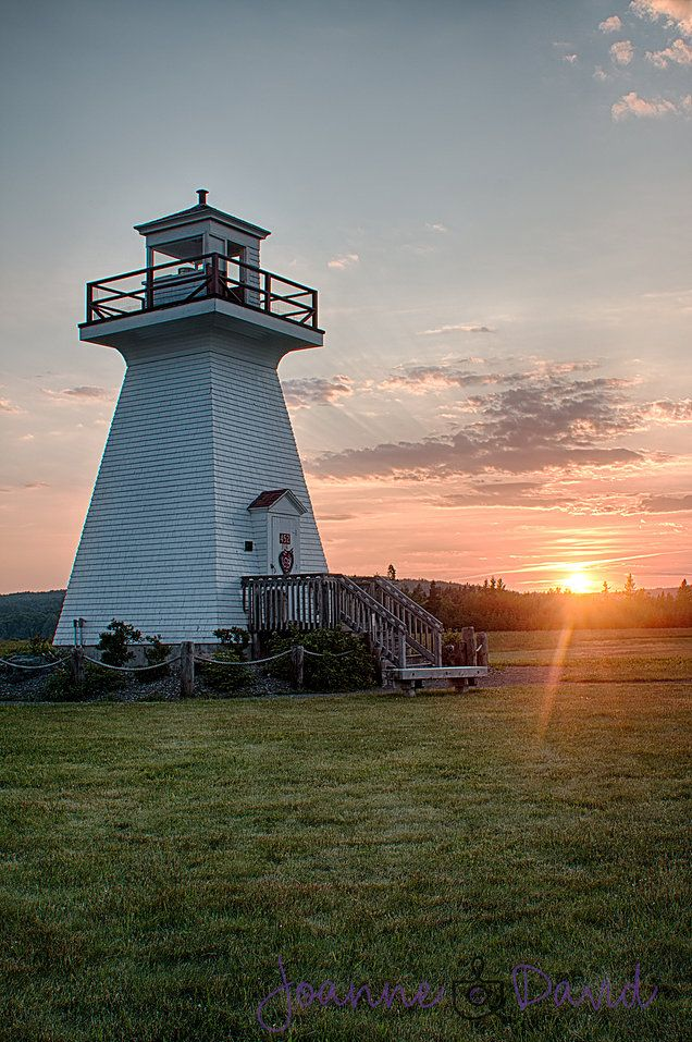 Five Islands Lighthouse  Joanne Bouley & David Maxwell - Wedding Photographers Truro NS