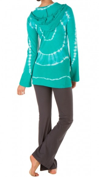 Tie Dye Long Sleeve Hoodie. Perfect for yoga and relaxing!