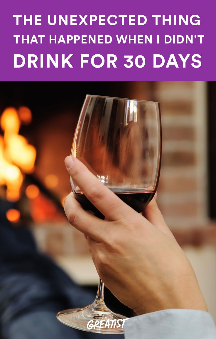 And it's not losing weight, saving money, or getting clear skin.  You get a better perspective    http://greatist.com/live/dry-january-benefits-of-giving-up-alcohol