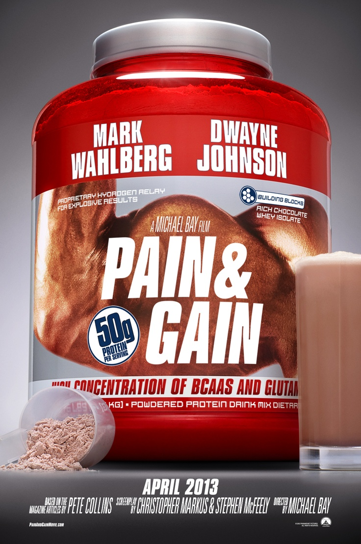Pain and Gain (Teaser Poster)