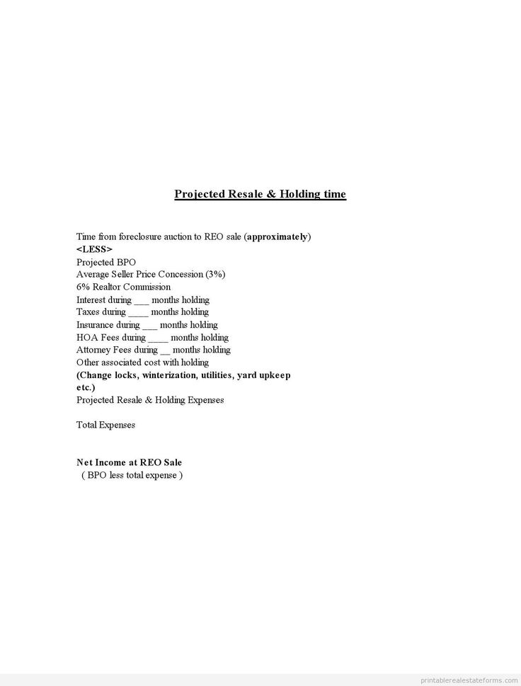 337 best Sample Forms images on Pinterest Free printable, Short - foreclosure specialist sample resume