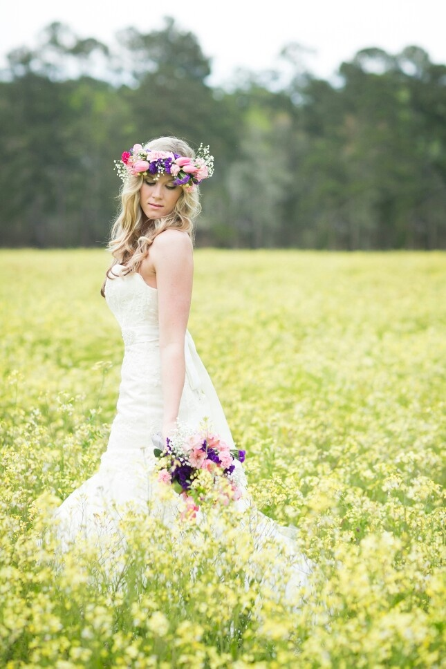 Bridal shoot by Ursula Page Photography