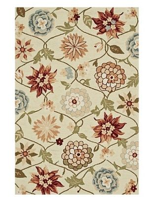 57% OFF Loloi Rugs Summerton Rug (Ivory/Floral)